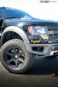 Ford Raptor on HRE Wheels Grubbs Photography