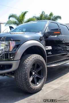 Ford Raptor on HRE Wheels